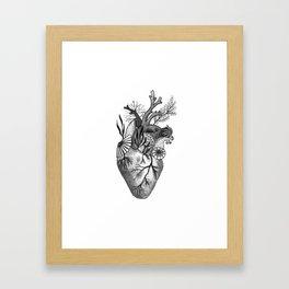 Mermaid Heart Framed Art Print
