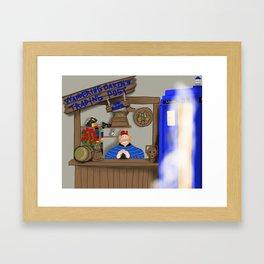 HOO-WHO Framed Art Print