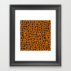 Death Lepard Framed Art Print