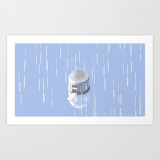Greek Temple Art Print
