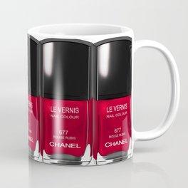 Nail Polish Rouge Rubis Coffee Mug
