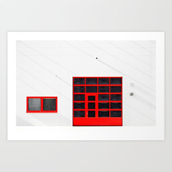 Patio 2 Art Print