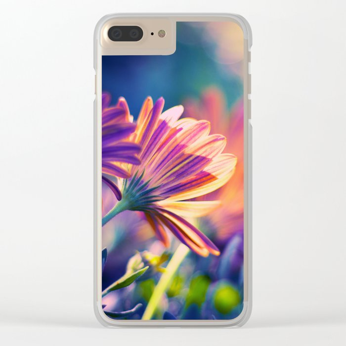Colorful Days Clear iPhone Case