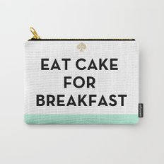 Eat Cake for Breakfast - Kate Spade Inspired Carry-All Pouch