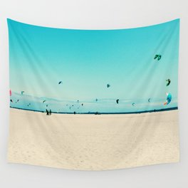 KITE SURFING Wall Tapestry