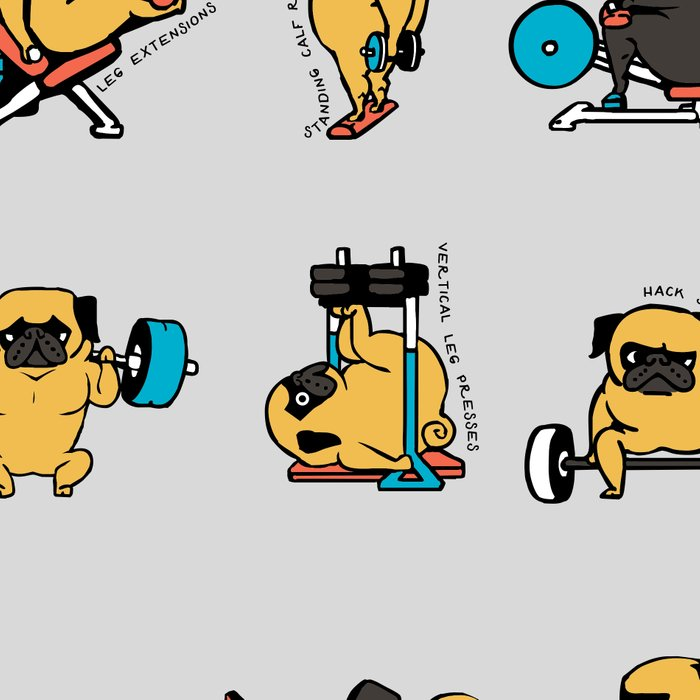 Leg Day with The Pug Leggings