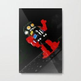 Robotic Metal Print