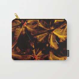 Palm Trees Upshot With Shooting Stars Carry-All Pouch