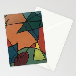 Cubist Martini Stationery Cards