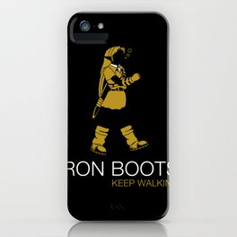 Iron Boots iPhone Case