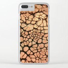Arid desert Clear iPhone Case