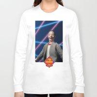 pee wee Long Sleeve T-shirts featuring Pee-Wee School Photo by elkfoot