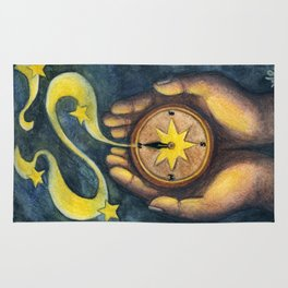 Compass of the Stars Rug