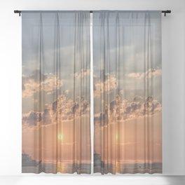 Sunbeam Sunset Sheer Curtain