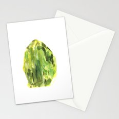 Raw Peridot  Stationery Cards