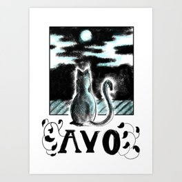 Avo :: Watcher of the Windows Art Print
