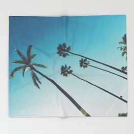 Palm Dreams Throw Blanket