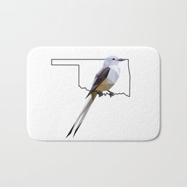 Oklahoma – Scissor-Tailed Flycatcher Bath Mat