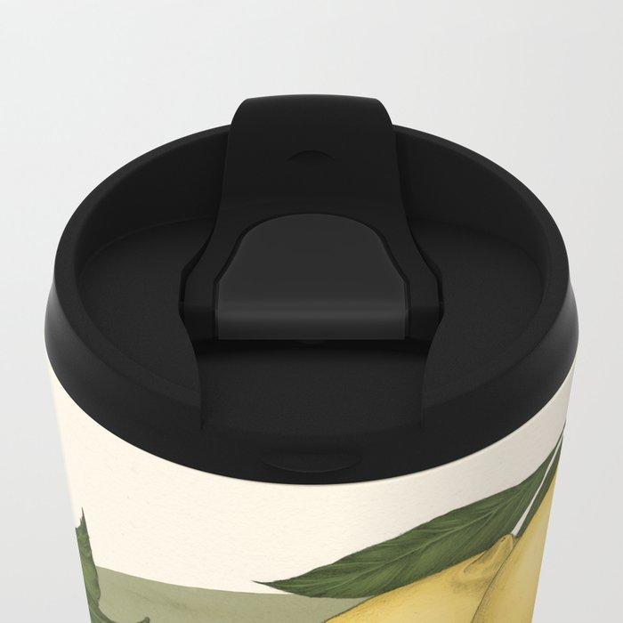 Honey, Bees & Lemons Metal Travel Mug