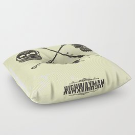 The Highwayman Floor Pillow