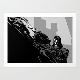 high chaos Art Print