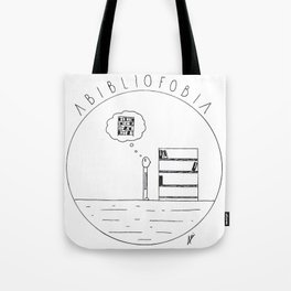 Simple love to books Tote Bag