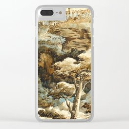 "Théodore Géricault ""View of Tivoli"" Clear iPhone Case"