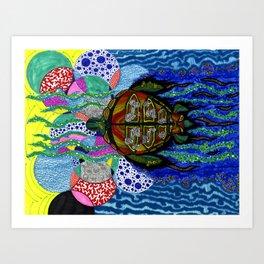 Torto's LSD Trip Art Print