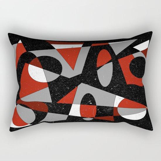 Abstract #116 Rectangular Pillow