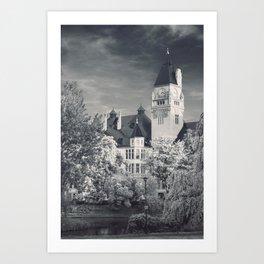Architecture Department Art Print