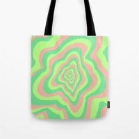 watermelon Tote Bags featuring Watermelon by Popsicle Illusion