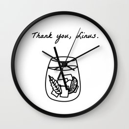 Thank You, Linus. (How I Met Your Mother) Wall Clock