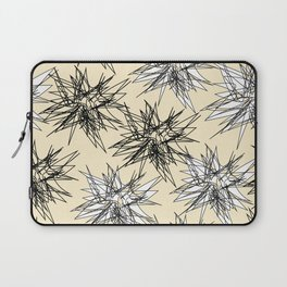 Black and White Squiggles Laptop Sleeve