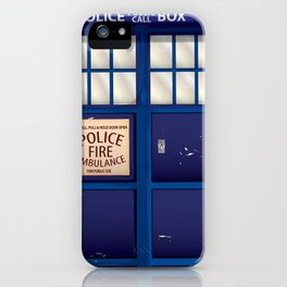 Police Call Box iPhone Case