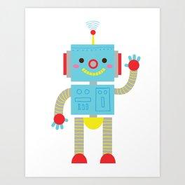 Sending Signals Art Print