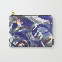 Swirling Swift Sky Carry-All Pouch
