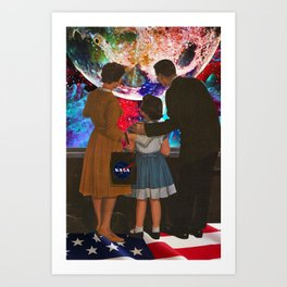 If Only We Had Actually Gone Art Print