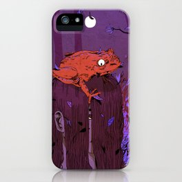 The Frog & I iPhone Case