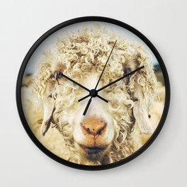 Curly I Wall Clock