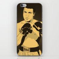 ali gulec iPhone & iPod Skins featuring Ali by Renan Lacerda