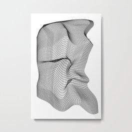 Warp (series) Metal Print