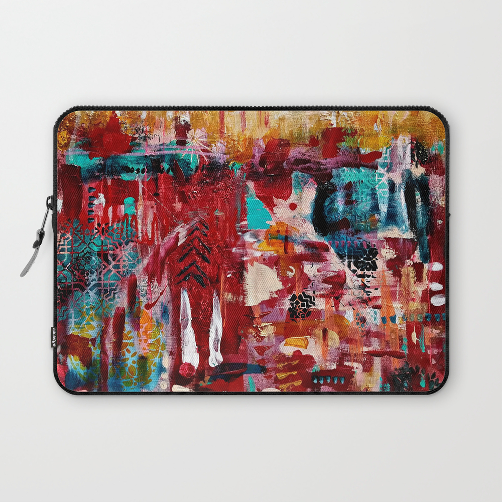 Andalusia: Original Art By Ulyth Laptop Sleeve LSV8629643