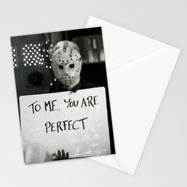 JASON VORHEES IN LOVE ACTUALLY Stationery Cards