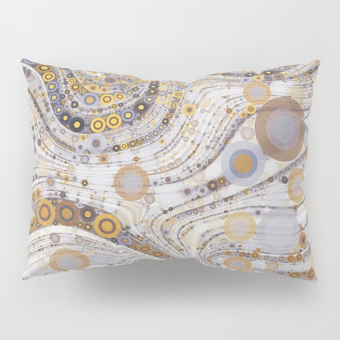 CASABLANCA a bohemian design using soft earth tones Pillow Sham