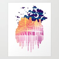 Nyght Tyme Art Print