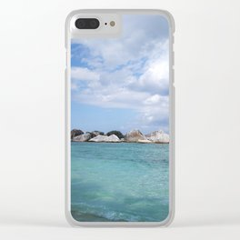 Garuda, the Eagle's Sea Perch Clear iPhone Case