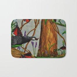Crow Crunch Bath Mat