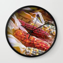 Kernels of Color Wall Clock
