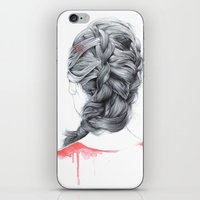 french iPhone & iPod Skins featuring FRENCH  by FunnyTummy