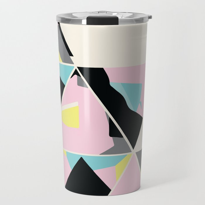 triangle no.3 / with love Travel Mug